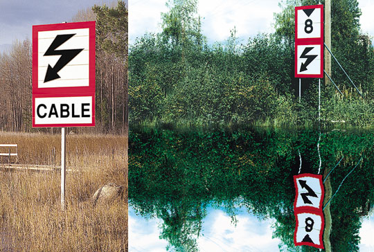 Signs for waterways